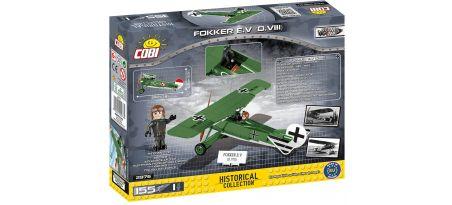 Chasseur monoplan FOKKER E.V(D.VIII) 2en1
