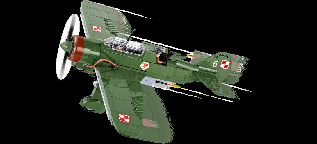 Bombardier léger polonais PZL P-23B KARAŚ