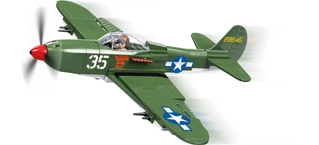 Chasseur US BELL P-39 AIRACOBRA