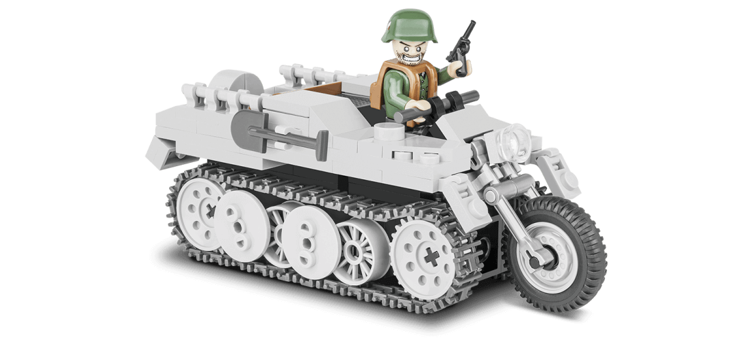 Véhicule tout-terrain allemand Sd.Kfz.2 Kettenkrad HK-101