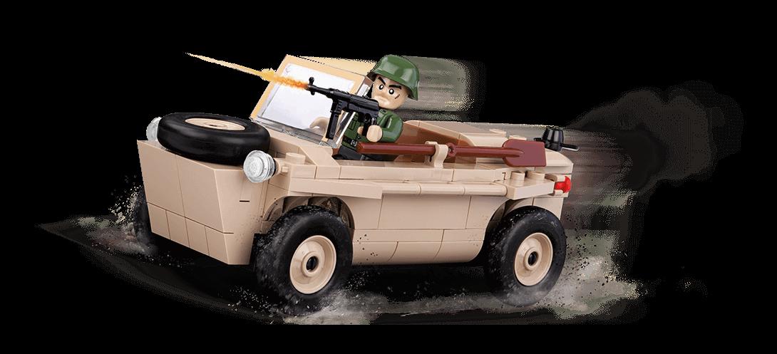 Voiture amphibie allemande VW 166 SCHWIMMWAGEN