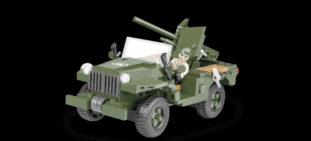 Chasseur de chars sur roues US 37 MM GMC M6 FARGO