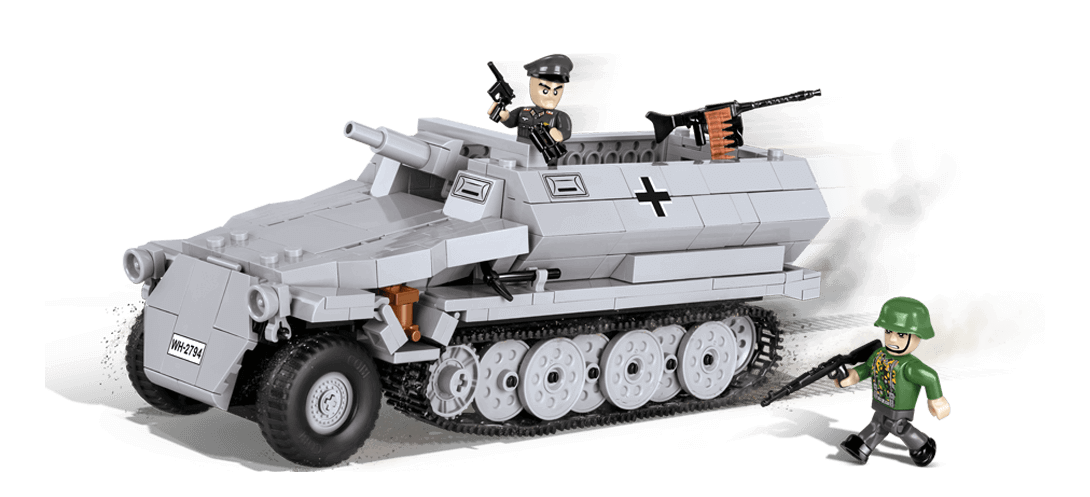 Transport de troupes blindé allemand SD.KFZ. 251/10 AUSF. C STUMMEL