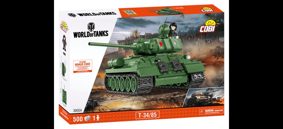 Char soviétique T34/85 WORLD OF TANKS