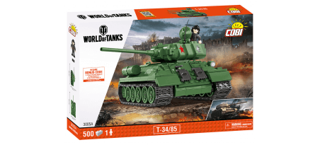 Char soviétique T34/85 WORLD OF TANKS