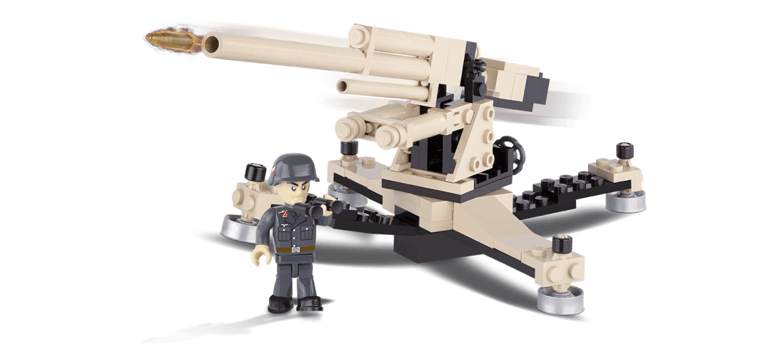 Canon allemand Flak 36/37 88 mm