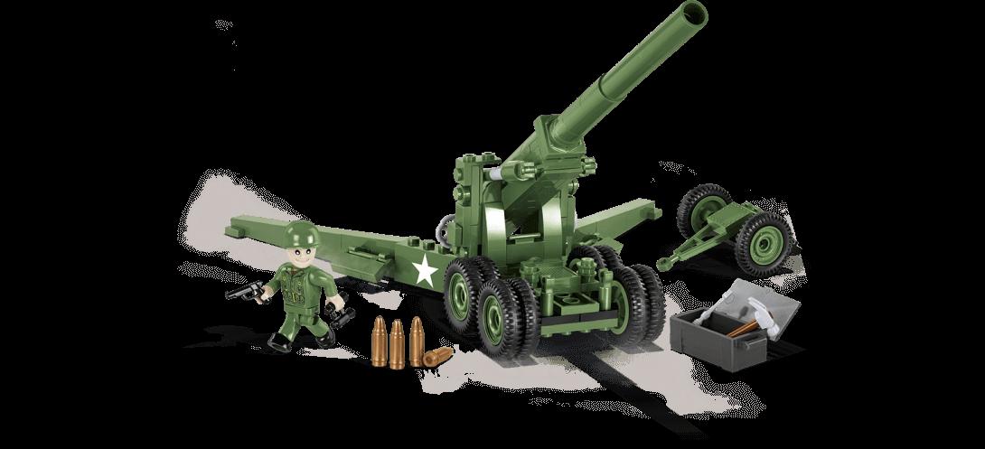 Canon de campagne US 155 mm M1 Long Tom
