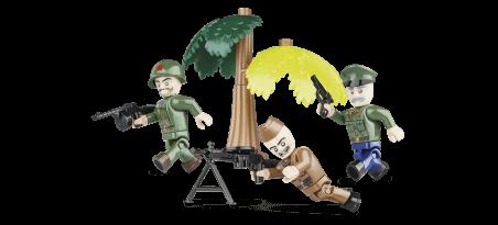 Soldats Soviétiques - 3 figurines avec accessoires