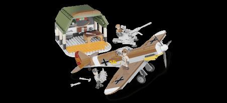 Chasseur allemand Messerschmitt Bf 109 F-4 - Mission Africaine