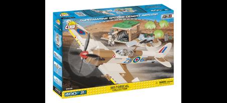 Chasseur Supermarine Spitfire Mk.IX - Aire d'atterrissage du désert
