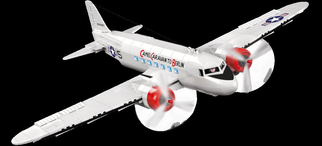 Avion de transport C-47 Skytrain Berlin Airlift