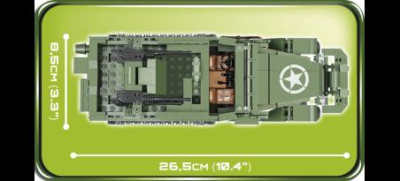 Autochenille blindée anti-aérien US M16 HALF-TRACK