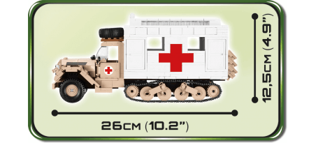Half-track médical allemand FORD V3000S MAULTIER