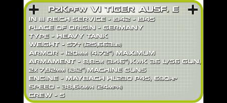 Char allemand TIGER I 131