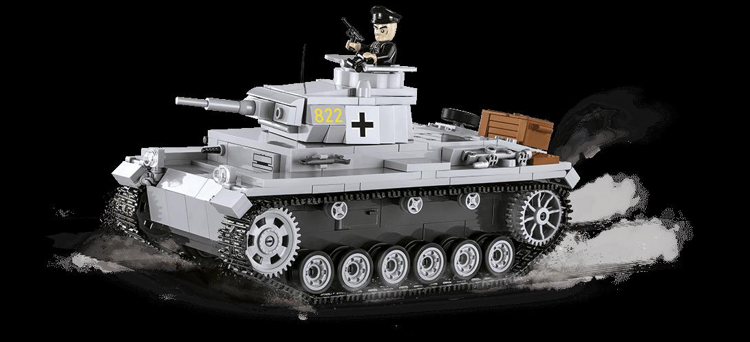 Char allemand PANZER III AUSF.E