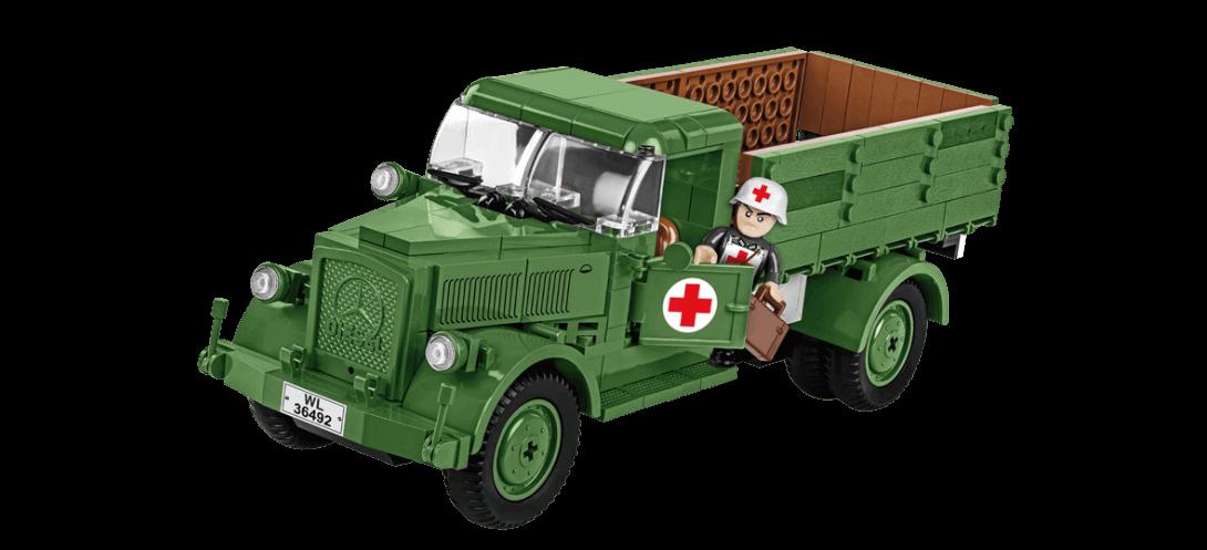 Camion médical allemand MERCEDES BENZ L3000 S
