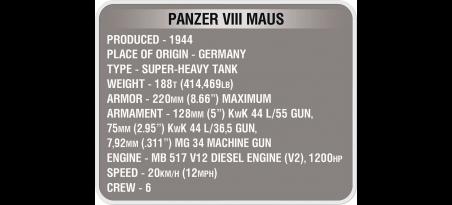 Char allemand PANZER VIII MAUS WORLD OF TANKS