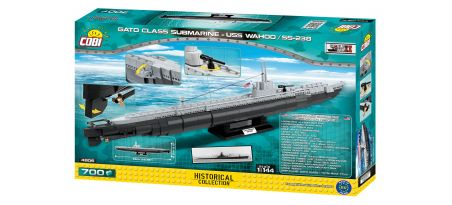Sous-marin US classe GATO - USS WAHOO/SS-238