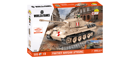 Char PANTHER 'Résistance de Varsovie' WORLD OF TANKS