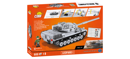 Char allemand LEOPARD I WORLD OF TANKS
