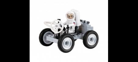 Module lunaire Apollo 11 avec Jeep lunaire