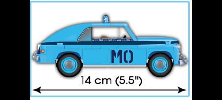 Voiture de police WARSZAWA M20 RADIOWÓZ