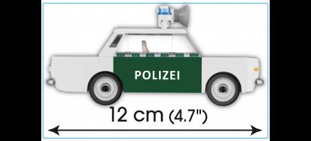 Voiture de police WARTBURG 353 POLIZEI