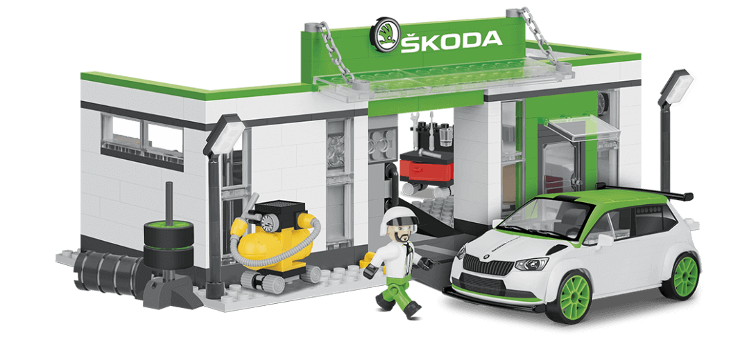 Garage de course SKODA FABIA R5 RACING