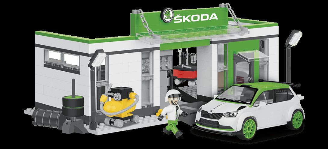 Garage de course SKODA FABIA R5 RACING