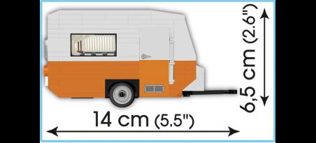 Voiture WARTBURG 353 TOURIST + Caravane