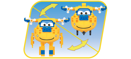 SUPER WINGS Aéroport / JETT / DONNIE