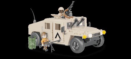 Véhicule OTAN Sable du désert