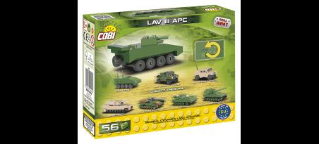 Véhicule blindé léger III APC Nano