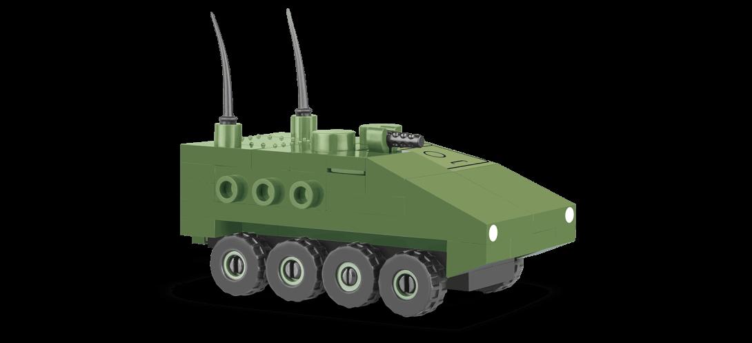 Véhicule de transport d'infanterie M1126 STRYCKER Nano