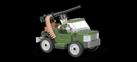 Véhicule de patrouille des gardes frontière