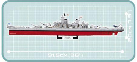 Cuirassé US USS IOWA (BB-61)/USS MISSOURI (BB-63)