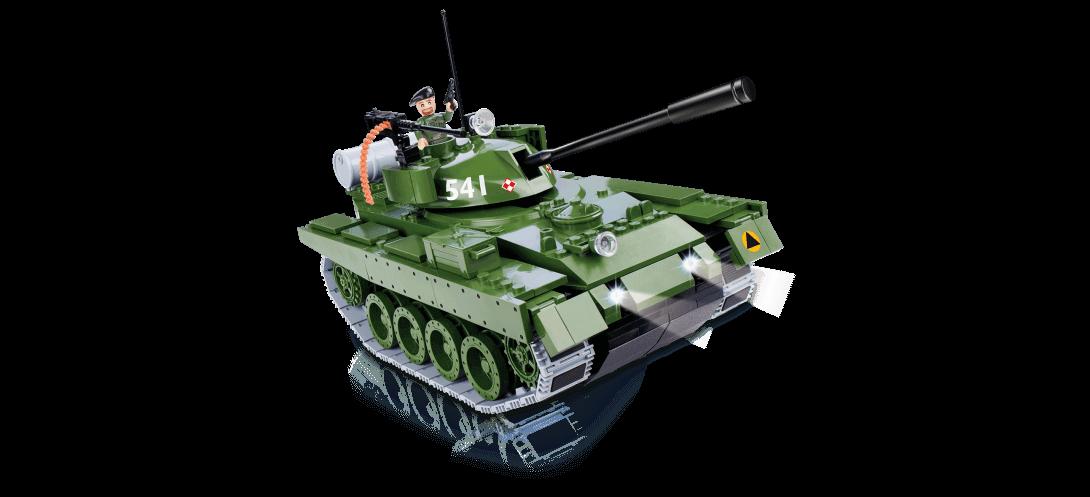 Char radiocommandé T-72 bluetooth