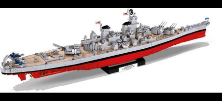 Cuirassé US USS IOWA WOW