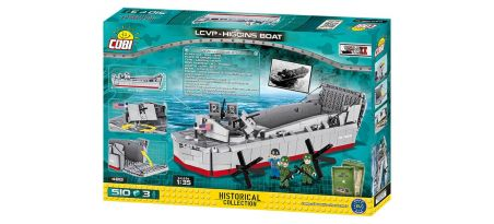 Barge de débarquement LCVP - Higgins D-DAY