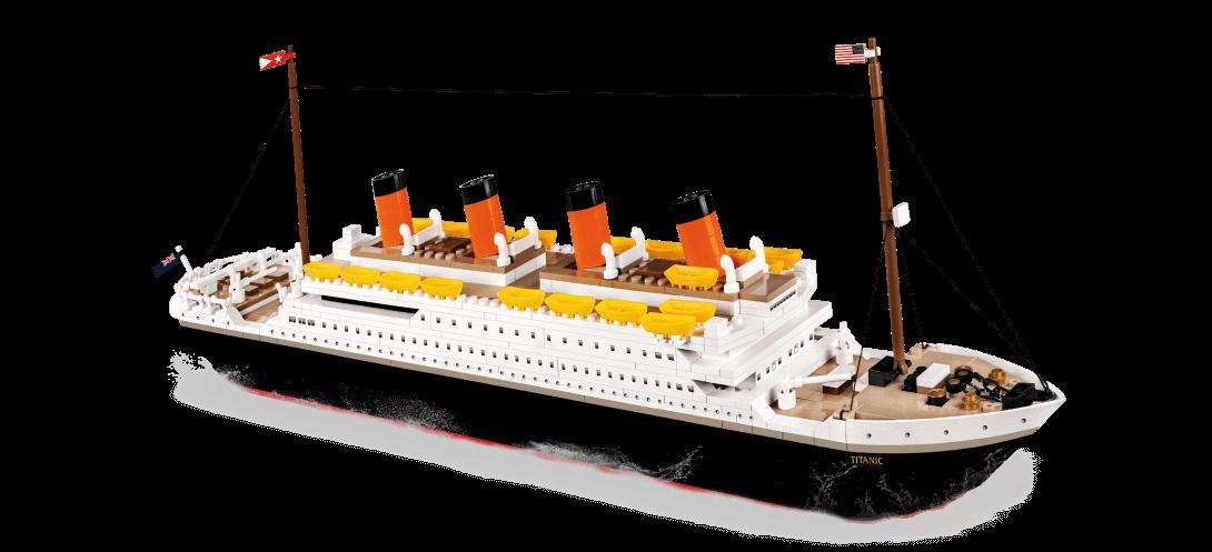 R.M.S Titanic 600 PCS