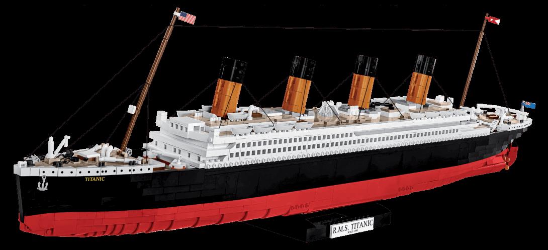R.M.S Titanic échelle 1:300 2840 PCS
