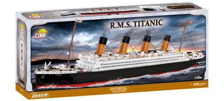 R.M.S Titanic échelle 1:300 2840 PCS - COBI-1916