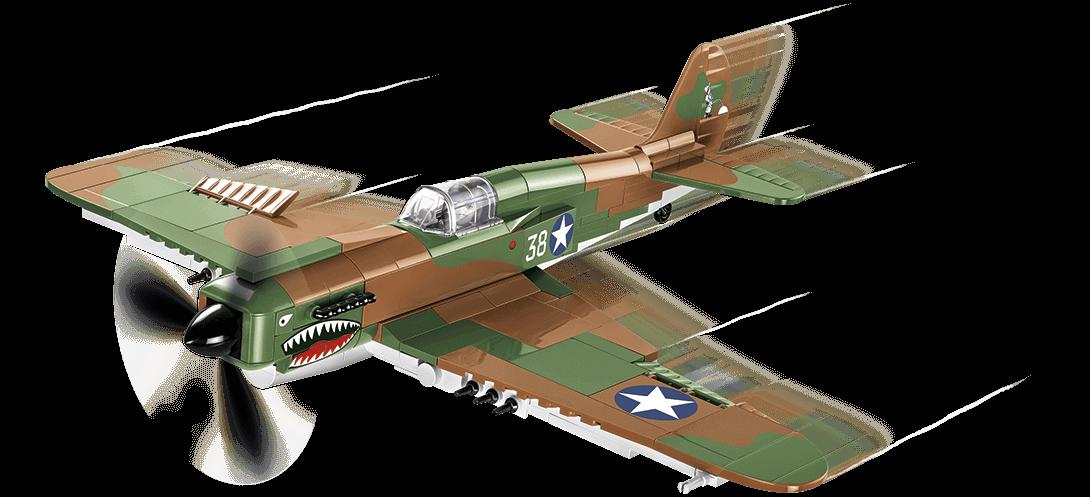 Curtiss P-40E Warhawk - chasseur américain - COBI-5706