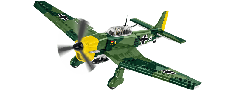 Junkers Ju 87B Stuka - bombardier en piqué allemand - COBI-5705