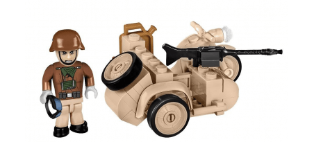 Moto sidecar BMW R75 1942 Afrika Korps - COBI-2397