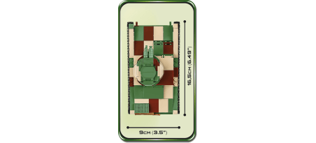 Char britannique VICKERS MK.E TYPE B - COBI-2520