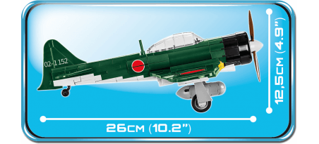 Chasseur japonais Mistubishi A6M5 ZERO - COBI-5712