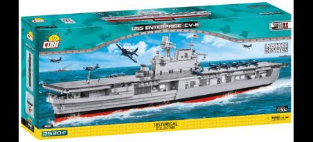 Porte-avions USS ENTERPRISE CV-6 Edition Limitée - COBI-4816