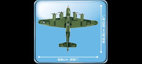 Bombardier Boeing B-17F Flying Fortress Memphis Belle - COBI-5707