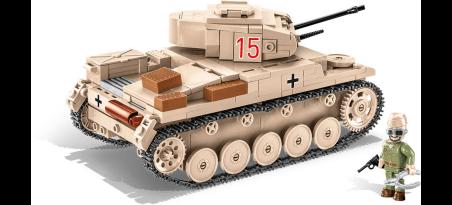 Char léger allemand SD.Kfz. 121 Panzer II Ausf. F - COBI-2527